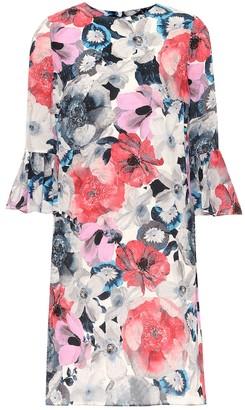 Erdem Elijah floral silk minidress