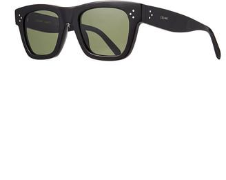 Celine Men's Rectangular Acetate Sunglasses