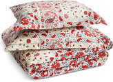 Lauren Ralph Lauren Kelsey Cotton Textured 3-Pc. Full/Queen Duvet Cover Set Bedding