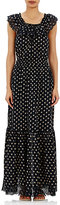 Ulla Johnson Women's Off-The-Shoulder Rose Maxi Dress-BLACK