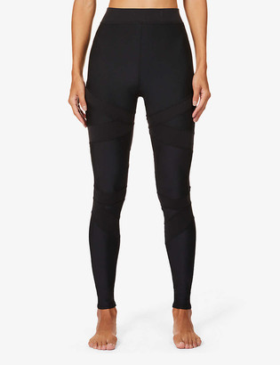 Alo Yoga Level Up high-rise stretch-jersey leggings