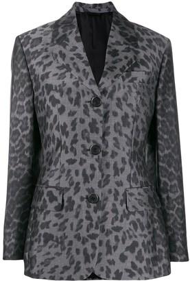 Prada Leopard-Print Jacket