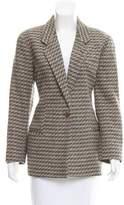 Giorgio Armani Structured Wool Blazer