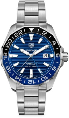 Tag Heuer Aquaracer 43MM Stainless Steel Bracelet Watch