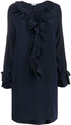 P.A.R.O.S.H. ruffle trim dress