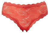 Charlotte Russe Plus Size Cross-Dye Lace Hipster Panties