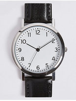 M&S Collection Everyday Round Face Watch