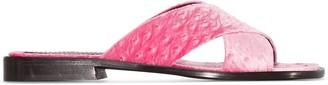 Sies Marjan Cassie 20mm velvet sandals