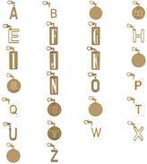 Stella McCartney alphabet charm key ring