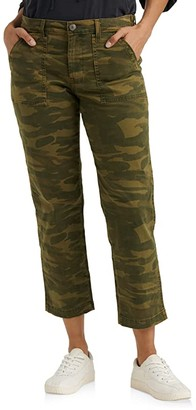 Lucky Brand Boyfriend Utility Pants (Classic Camo) Women's Casual Pants