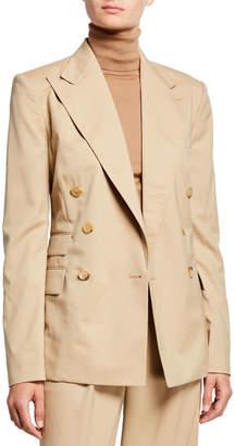 Ralph Lauren Elias Gabardine Blazer Jacket, Tan