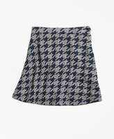 Brooks Brothers Jacquard Houndstooth Skirt