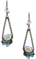 ERICKSON BEAMON ROCKS Multi-Colored Drop Pendant Earrings