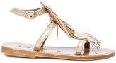 K. Jacques Leather Corsair Sandals