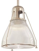 Hudson Valley Lighting Pendant Light with Clear Glass in Polished Nickel Finish