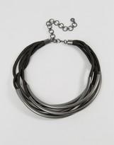 Pilgrim Multi Layered Tube Necklace
