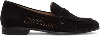 Corso Como Carlynee Perforated Leather Loafers