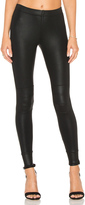 David Lerner Coated Moto Legging