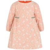 Catimini CatiminiBaby Girls Pink Corduroy Deer Print Dress