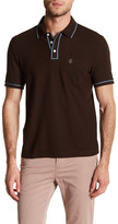 Original Penguin Short Sleeve Slim Fit Contrast Trim Polo