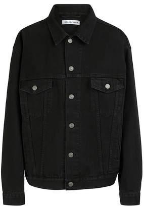 Balenciaga Denim jacket with logo