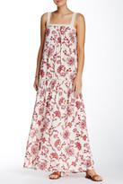 Love Stitch Floral Crochet Maxi Dress