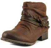 Jellypop Veda Women Round Toe Synthetic Brown Ankle Boot.