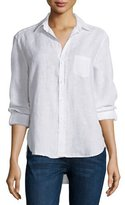 Frank And Eileen Eileen Button-Front Shirt, White