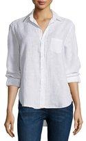 Frank And Eileen Eileen Button-Front Shirt, White