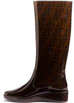Fendi 'Zucca' Rain Boot