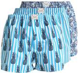Jockey 3 Pack Boxer Shorts Deep Ocean
