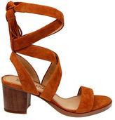 Splendid Janet Suede Tie-Up Sandals