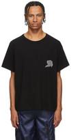 Alexander Wang Black Warped Logo T-Shirt