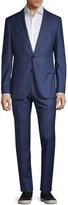 HUGO BOSS Slim-Fit Vitale Barberis Canonico Windowpane Wool Suit
