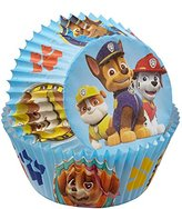 Wilton Paw Patrol Baking Cups - Disposable Cupcake Liners - Pack of 50