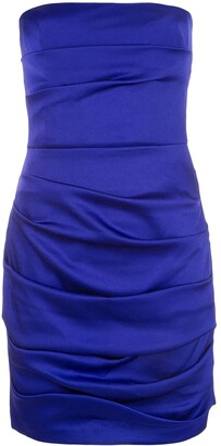 Alex Perry Sutton strapless mini dress
