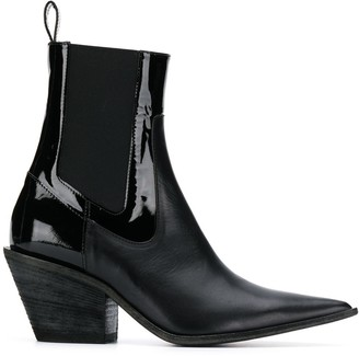 Haider Ackermann pointed toe boots