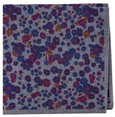 Ted Baker Men's Floral Wool Pocket Square