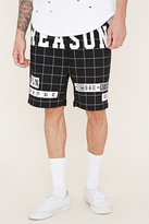 Forever 21 FOREVER 21+ Reason Grid Shorts