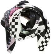 Marc Jacobs x Julie Verhoeven Bold Cloud Print Silk Scarf