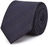 Reiss Shaw - Tonal Stripe Silk Tie in Blue, Mens