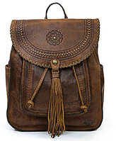 Patricia Nash Distressed Vintage Collection Tasseled Jovanna Backpack