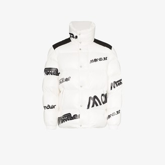 MONCLER GENIUS Logo Feather Down Puffer Jacket