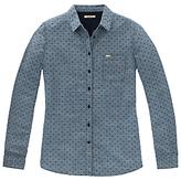 Lee Dobby Spot Shirt, Washed Blue