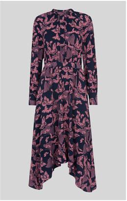 Whistles Papillion Print Shirt Dress
