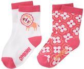 Gymboree Lion & Floral Socks