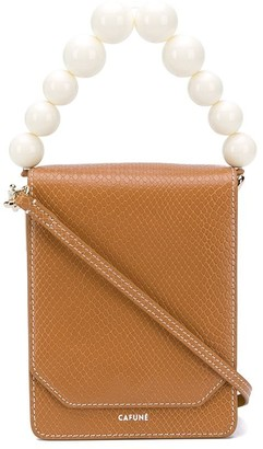 Cafune Bellows leather shoulder bag