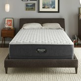 """Simmons Silver BRS900 12"""" Extra Firm Innerspring Mattress and Box Spring Mattress Size: Twin, Box Spring Height: Low Profile"""