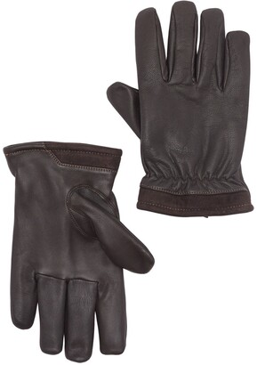 UGG Captain Pieced Leather Gloves