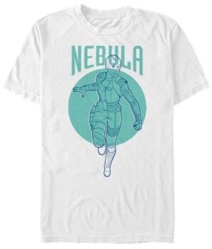 Marvel Men's Avengers Endgame Nebula Pop Art, Short Sleeve T-shirt